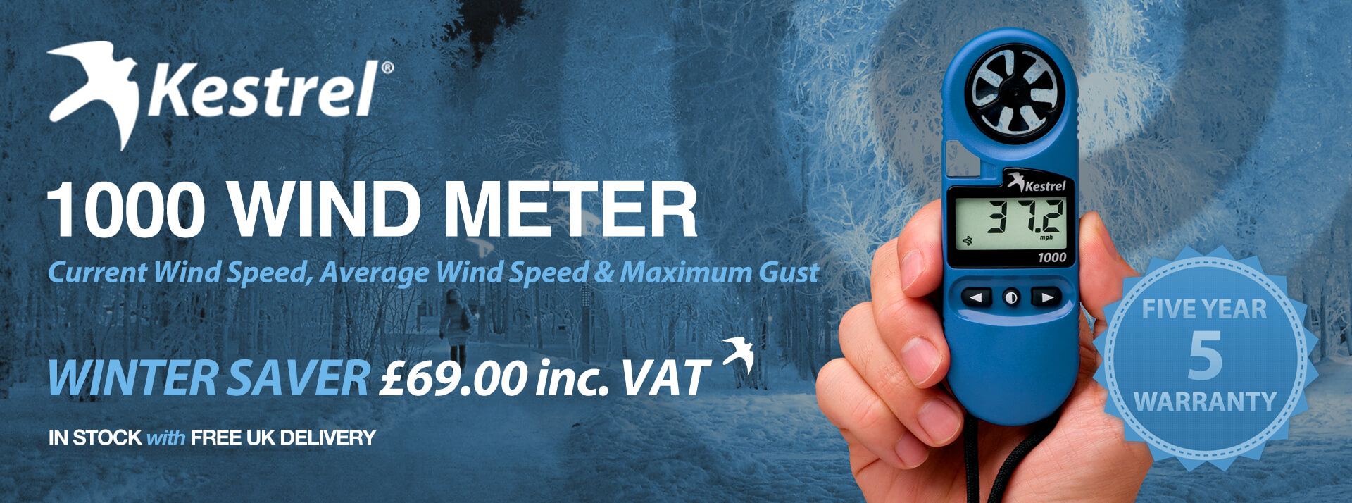 Kestrel 1000 Winter Banner »