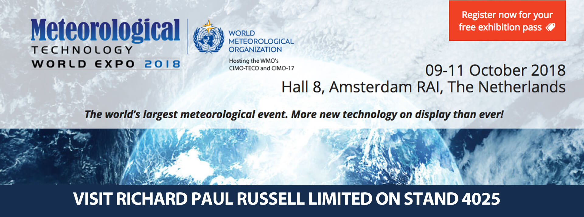 Meteorological Technology World Expo 2018 »