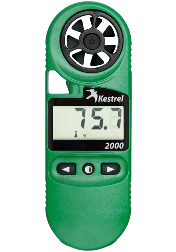 Kestrel 2000 Hand-Held Thermo-Anemometer