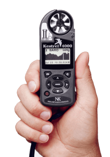 Kestrel 4000 Pocket Weather Tracker