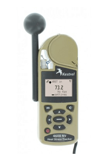 Kestrel 4600 Heat Stress Tracker with Compass