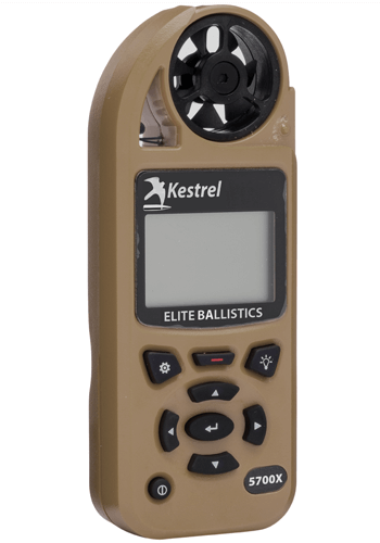 5700X Kestrel Elite Weather Meter with Applied Ballistics